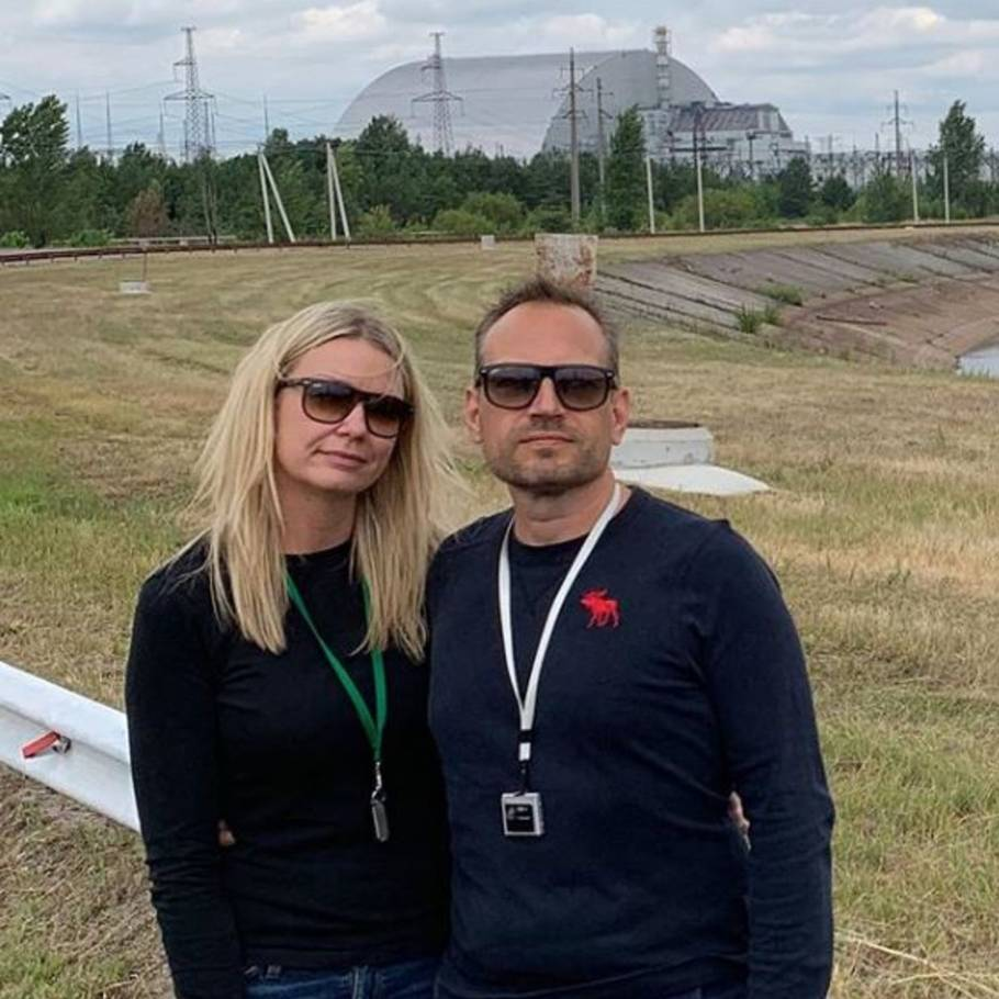7faa745c Serie-iværksætteren Martin Thorborg gav kæresten Jannie Buch en tur til  Tjernobyl i fødselsdagsgave.