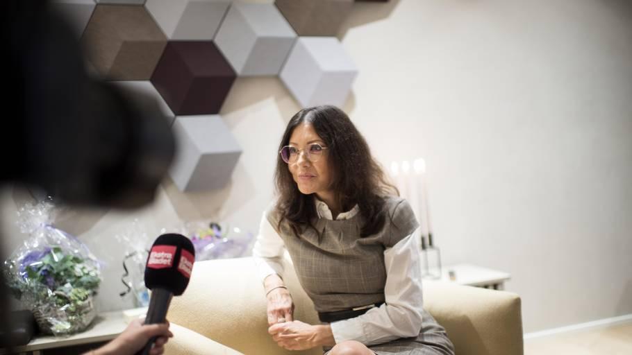 Grevinde Alexandra åbnede en smule op om sit forhold til den danske forretningsmand Nicolai Peitersen, som er bosat i Kina. Foto: Tim Kildeborg Jensen