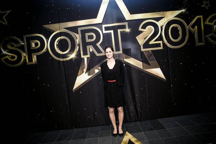 Maja Jager løb med titlen som årets sportsnavn i 2013 takket være VM-guld. Foto: Mikkel Berg Pedersen/Ritzau Scanpix