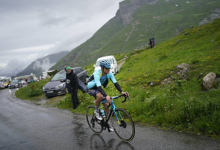 Jakob Fuglsang led under Tour de France. Foto: Daniel Cole/Ritzau Scanpix