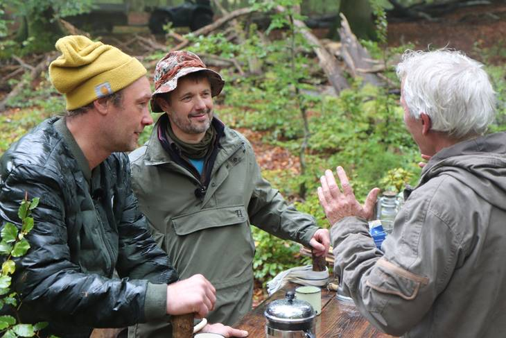 I programmet fortæller kronprins Frederik om sin kærlighed til naturen og jagtglæde. Foto: DR