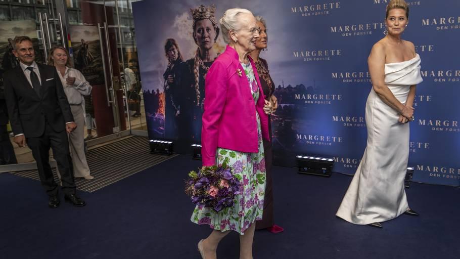 Dronning Margrethe var onsdag til premiere på 'Margrete den Første. Foto: Henning Hjorth