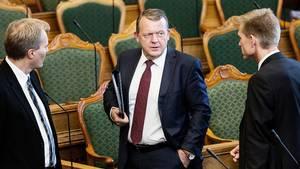 Det er ikke kun DF, der giver Løkke en kold skulder. Venstres formand har selv valgt at lægge luft til DF. Foto: Rune Aarestrup