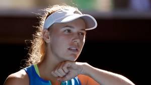 Caroline Wozniacki er på vej op ad verdensranglisten. (Foto: AP)
