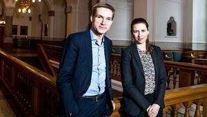 Thulesen Dahl har en plan med sin nye alliance med Mette Frederiksen. Foto: Joachim Rode / Fagbladet 3F