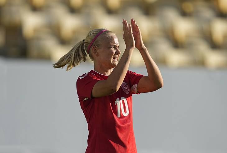 Pernille Harder er 28 år gammel, og blev i 2020 kåret til Europas bedste kvindelige fodboldspiller. Foto: Kim Price / Ritzau Scanpix