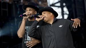 Run-D.M.C. består i dag af Run alias Joseph Simmons og D.M.C. alias Darryl McDaniels. Foto: Tinderbox