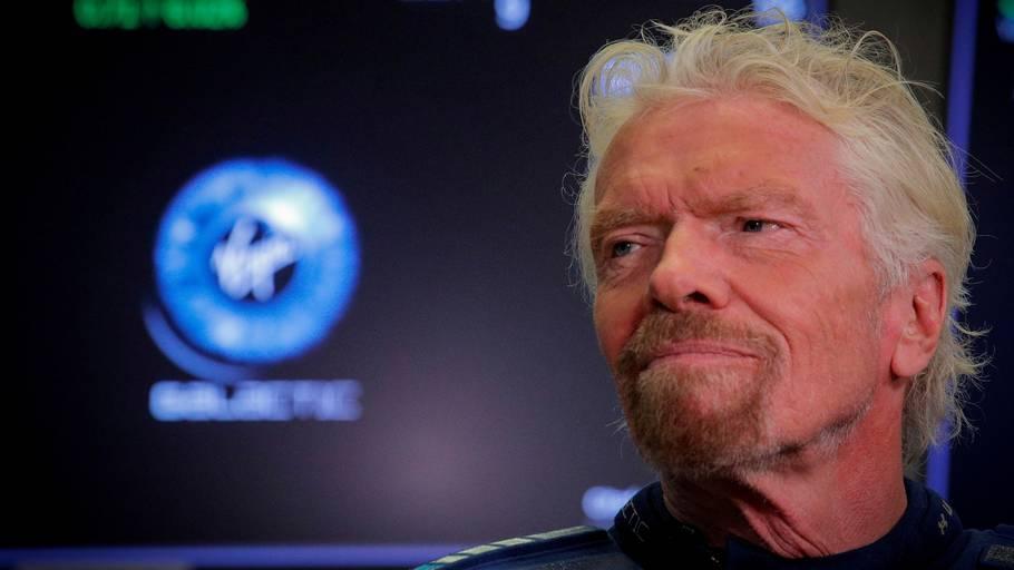 Richard Branson er manden bag varemærket Virgin, som blandt andet indeholder virksomhederne Virgin Records og Virgin Galactic. Foto: Ritzau Scanpix