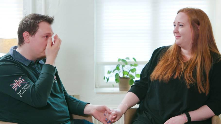 Frej Prahl guider parrene gennem de svære problemer, der kan opstå i parforholdet. Foto: Morten Sønniksen