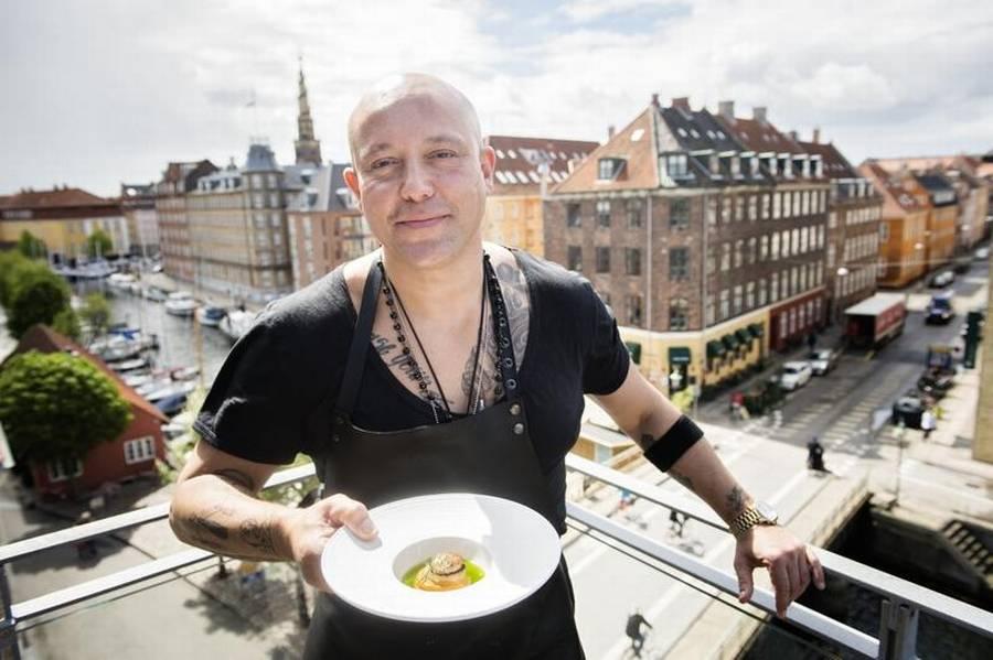 Rene Dif vil fremover fokusere på at lave god mad. Foto: Philip Davali