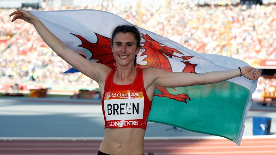 Olivia Breen har walisisk mor og irsk far. Hun repræsenterer Storbritannien til de Paralympiske Lege. Foto: Paul Childs/Ritzau Scanpix