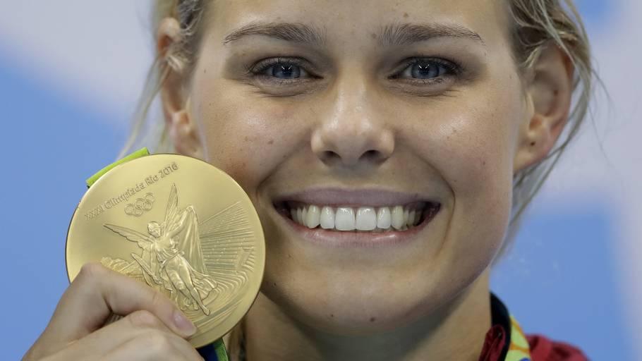 Pernille Blume fik vendt op og ned på tilværelsen, da hun vandt OL-guld for fem år siden. Foto: Michael Sohn/Ritzau Scanpix
