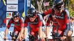 BMC kunne fejre sejren i anden etape af Romandiet Rundt. Foto: AP