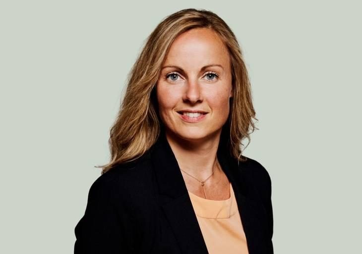 Tanja Larsson. Kandidatfoto Socialdemokratiet