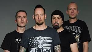Utroligt populære Volbeat - den succesfulde rockkvartet har igen fået noget at smile af. Foto: Ross Halfin