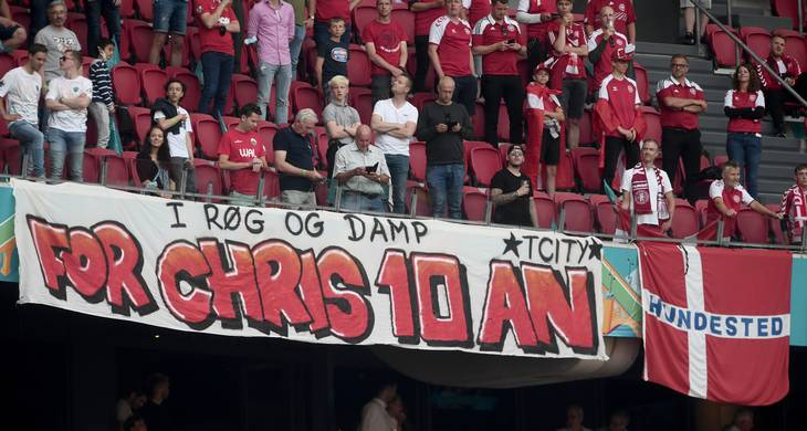 Christian Eriksens skæbne bragte landshold og befolkning tætterer på hinanden. Foto: Lars Poulsen