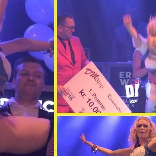 Her kåres Danmarks bedste stripper