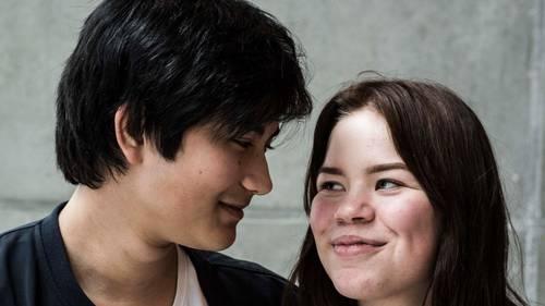 Martin og Mia er begge deltagere i 'X Factor', og så er de nyforelskede. Foto: Stine Tidsvilde