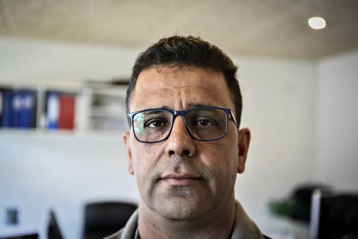 Tarek Younes har svært ved at forstå, hvad der er sket. Foto: Ernst Van Norde