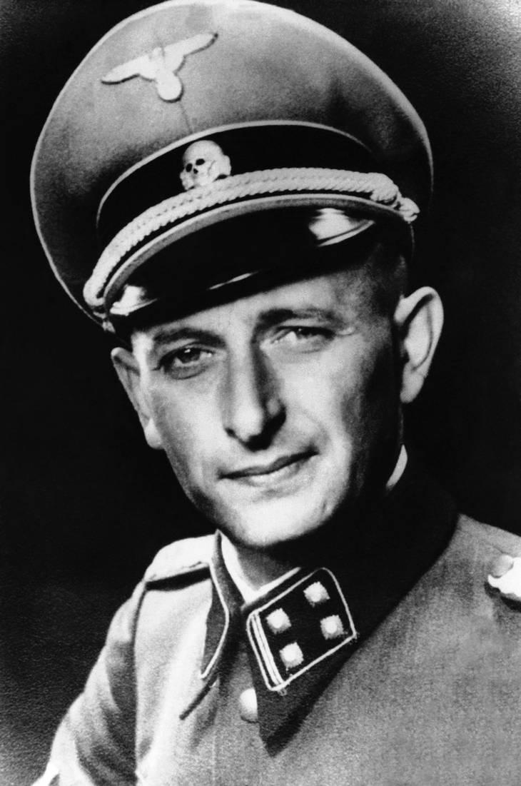 Adolf Eichmann. Foto: AP