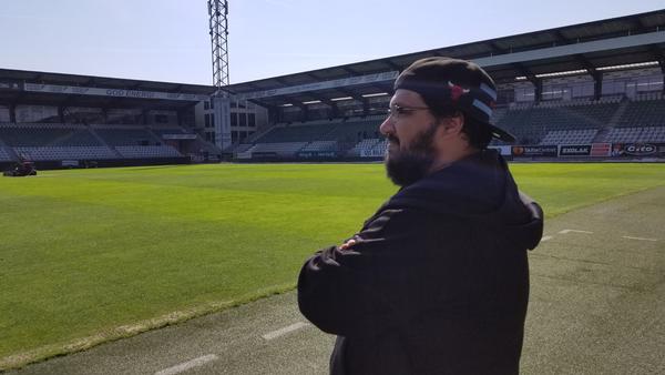 28604c47df9 Spillede med dansk fodboldhold i computerspil: Rejste til Danmark ...