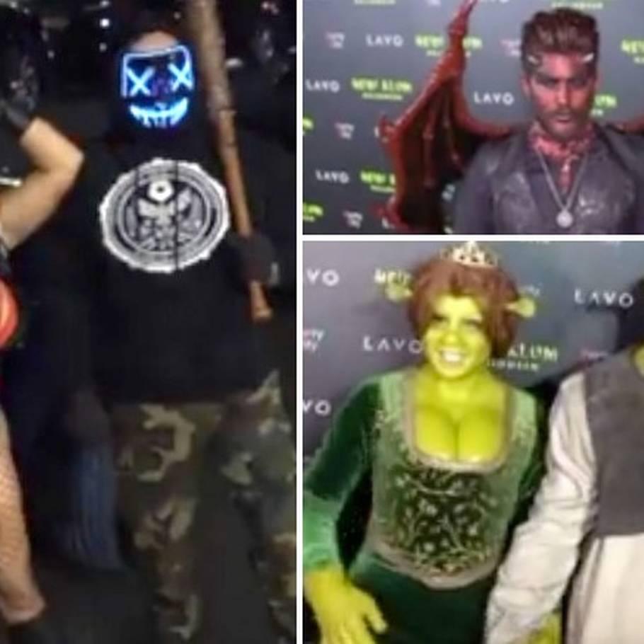 Se dem her: Så vilde er de kendtes Halloween kostumer