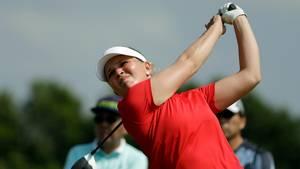 Med en stærk sidste runde vandt Nanna Koerstz Madsen Symetra Classic i USA. Foto: AP/Alastair Grant