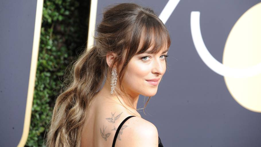 Dakota Johnson blev stjerne på 'Fifty Shades'-filmene. Foto: All Over Press