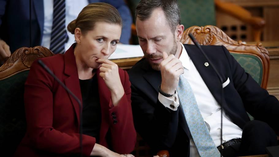 Muligheden for at tildele Ellemann og Venstre en vælgerlussing indeholder adskillige fordele, vurderer kilder i Mette Frederiksens regering. Arkivoto: Jens Dresling