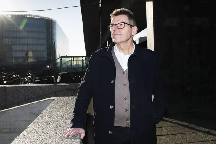 Topchef i Spies Jan Vendelbo kan atter smile. Efter et turbulent år, hvor virksomheden dansede på randen af konkurs, flyver Spies igen turister til syden. Foto: Gregers Tycho