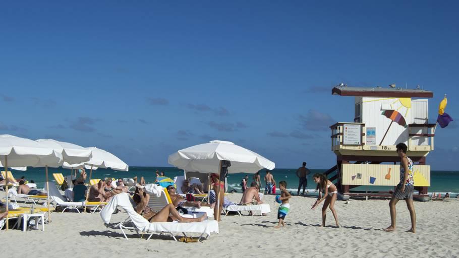 Miami Beach ist Milf Strand
