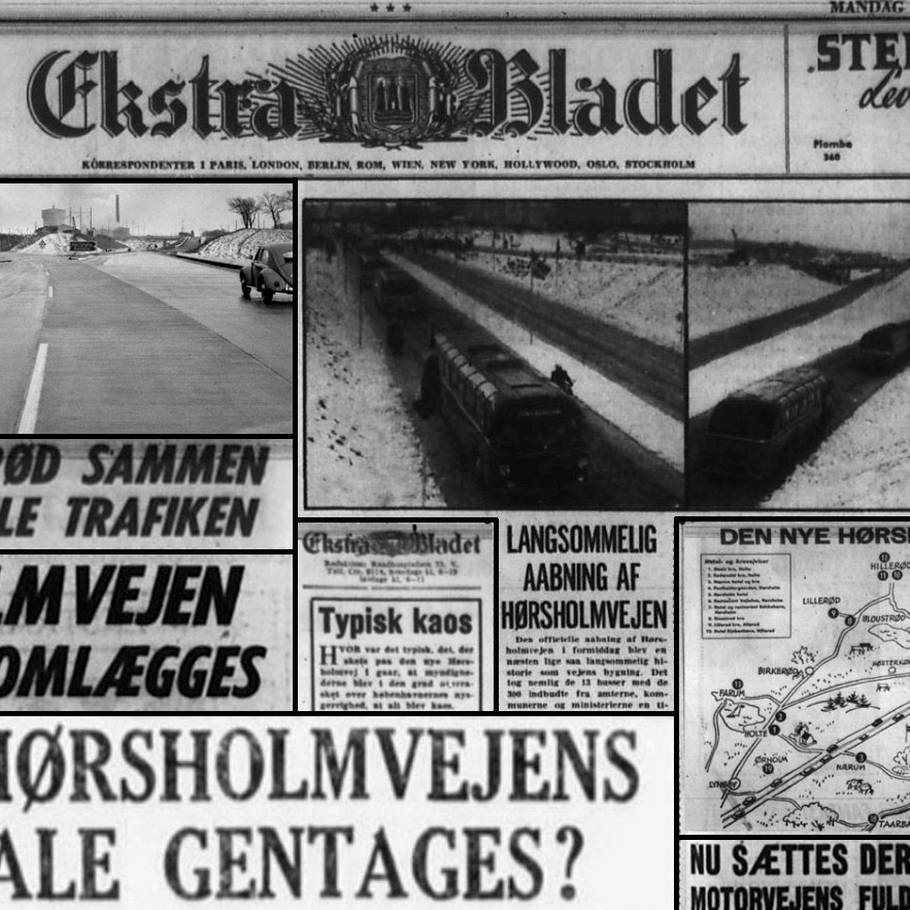 9ca3f693270 Danmarks første motorvej var til grin – Ekstra Bladet
