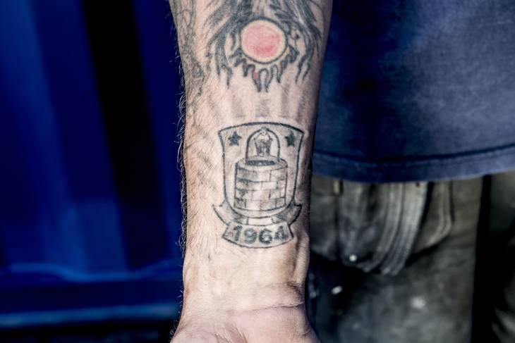 fodbold tattoo