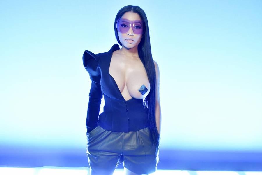Utrolige Nicki Minaj har en meget veludviklet evne til både musikalsk og visuelt at tiltrække opmærksomhed. Foto: All Over