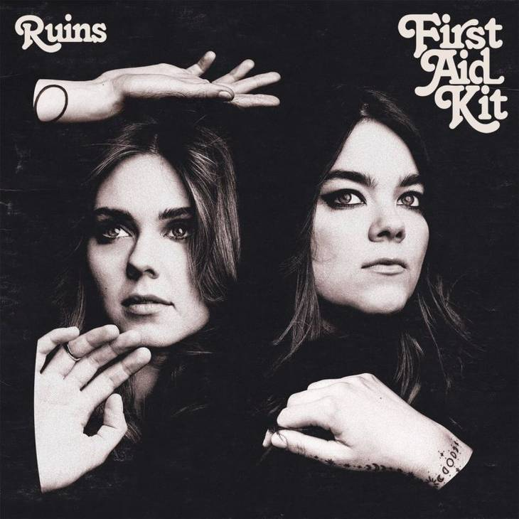 Coveret til First Aid Kits fjerde album, 'Ruins', der er indspillet i Portland, Oregon med producer Tucker Martine.