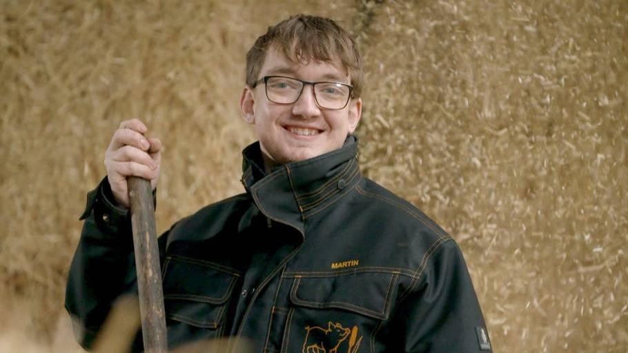 Martin Rathkjern blev et kendt ansigt, da han i 2019 var med i 'Landmand søger kærlighed' på TV2. Foto: TV2
