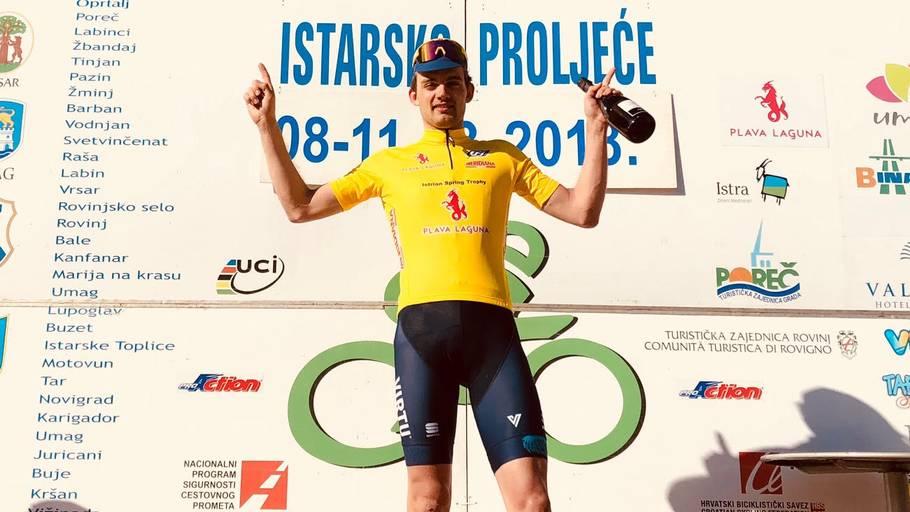 Kasper Asgreen vandt første etape af Istrian Spring Trophy i starten af  marts. Foto  59f0fde7c