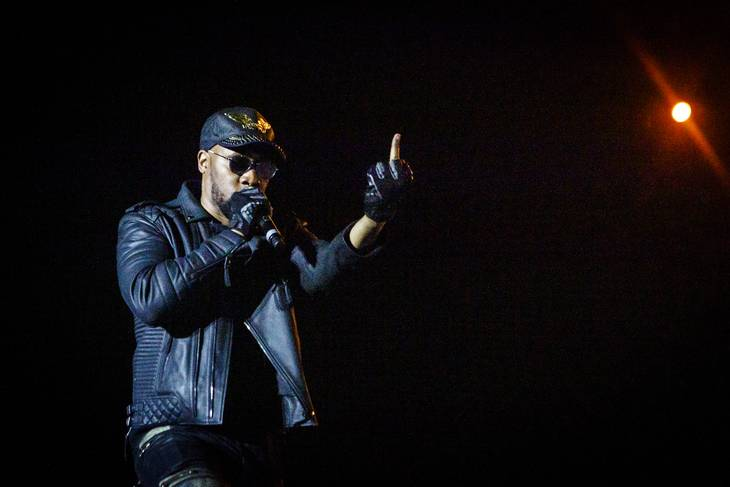 RZA i spidsen for Wu-Tang Clan i Royal Arena. Foto: Per Lange