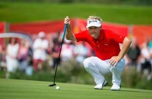 Rutinerede Søren Kjeldsen lukkede turneringen med en 68'er. (Foto: AP)
