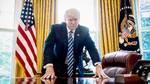 Donald Trump har kæmpet med svigtende opbakning blandt befolkningen, efter at han overtog præsidentposten fra Barack Obama i januar. Foto: AP