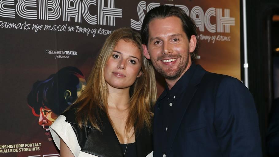 Julie Teglhus og Rasmus Seebach fandt sammen i 2013. Foto: Anders Brohus