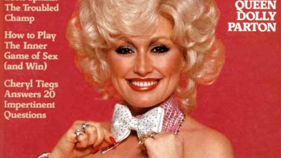 Dolly Parton prydede forsiden som 32-årig tilbage i 1978. Foto: Playboy/Harry Langdon