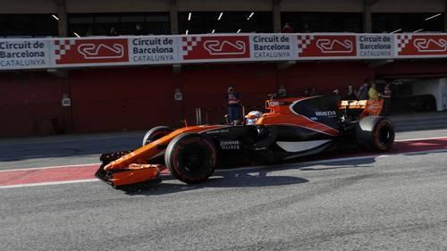 McLaren-Honda-raceren var ikke så godt kørende. Foto: Jan Sommer