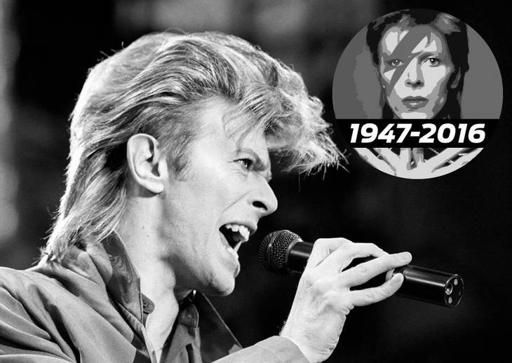 Bowie i gladere tider.