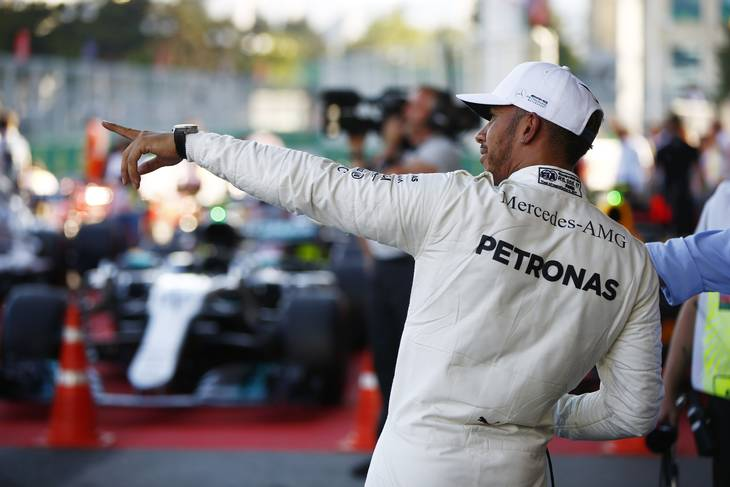 Lewis Hamilton var helt suveræn. Foto: Rex/All Over Press
