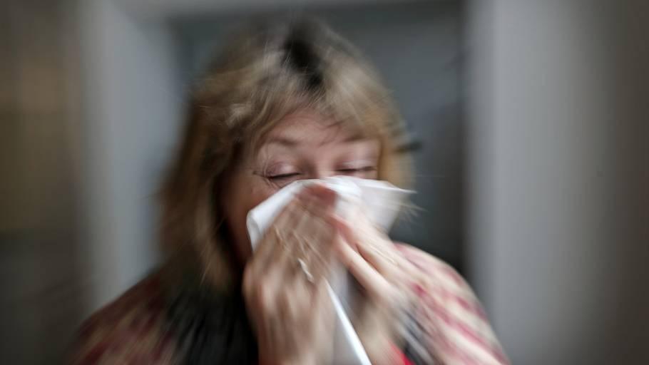 influenza ondt i tænderne