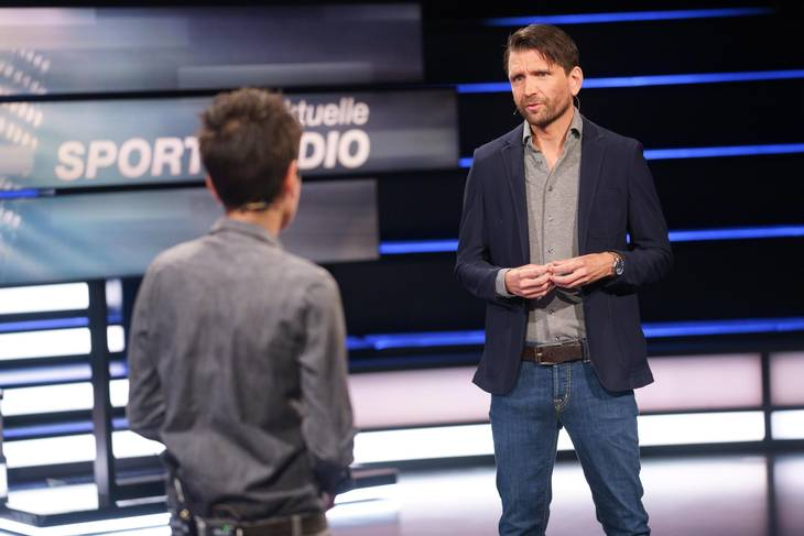 Peter Hyballa optræder under EM som ekspert hos ZDF. Foto: Martin Hoffmann/Ritzau Scanpix