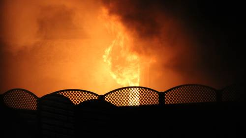 To personer mistede livet ved den voldsomme brand, der blev påsat om aftenen 10. januar i Heimdalsgade, Aalborg. Foto: Privatfoto