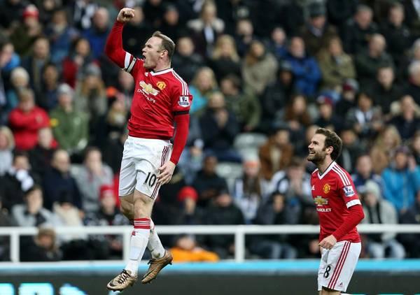 Wayne Rooney har været en af få spillere hos Manchester United, der har leveret varen siden årsskiftet. (Foto: AP)
