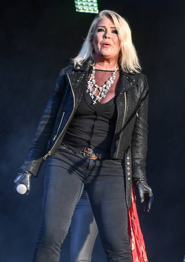 Kim Wilde på scenen i 2017. Foto: All Over Press